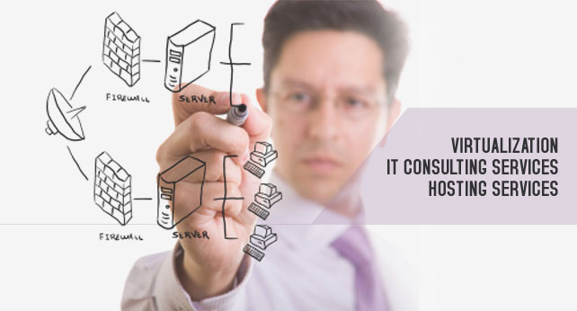 Virtualization IT consulting services hosting services